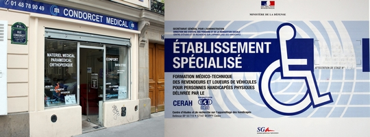 Boutique de l'établissement Condorcet à Paris