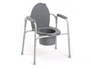 Chaise percée avec cadre Wc
