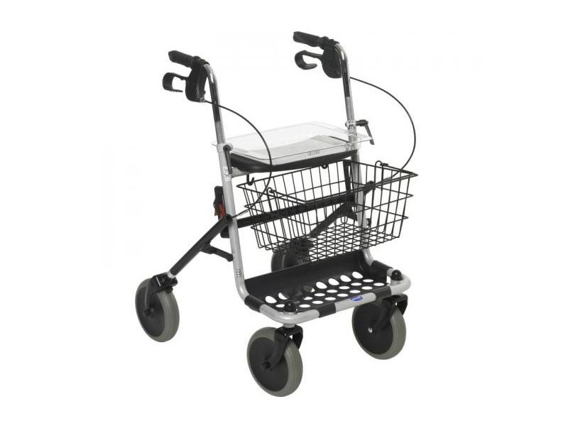 Rollator 4 roues avec panier en vente chez Condorcet Médical
