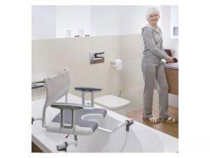 Siège de bain pivotant en vente chez Condorcet Médical